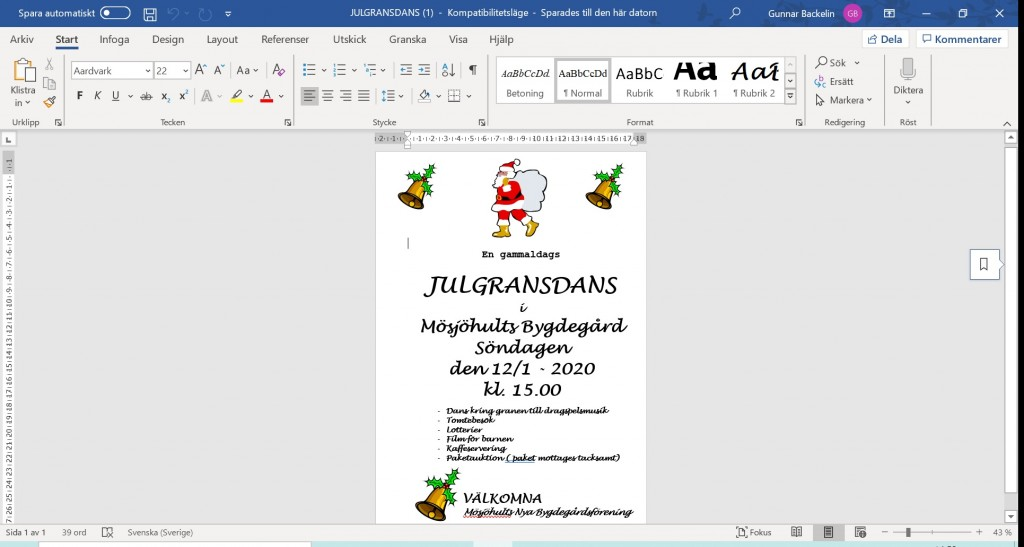 julgransdans-2020